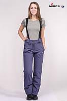 Горнолыжные брюки женские стрейч Avecs 8007 фиолетовый L