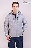 Куртка мужская демисезонная Avecs 6347220 серый 48 (M)