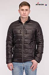 Куртка мужская демисезонная Avecs 70025 черный
