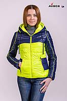 Куртка женская демисезонная Avecs лайм 44 (S)