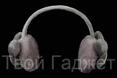 """ОПТ/Розница Меховые наушники """"Микки"""" (серые)"""