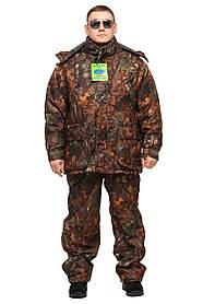 """Теплый зимний костюм ( Две куртки 3 в 1 ) """"BIZON"""" размер 46 по 66, - 40"""