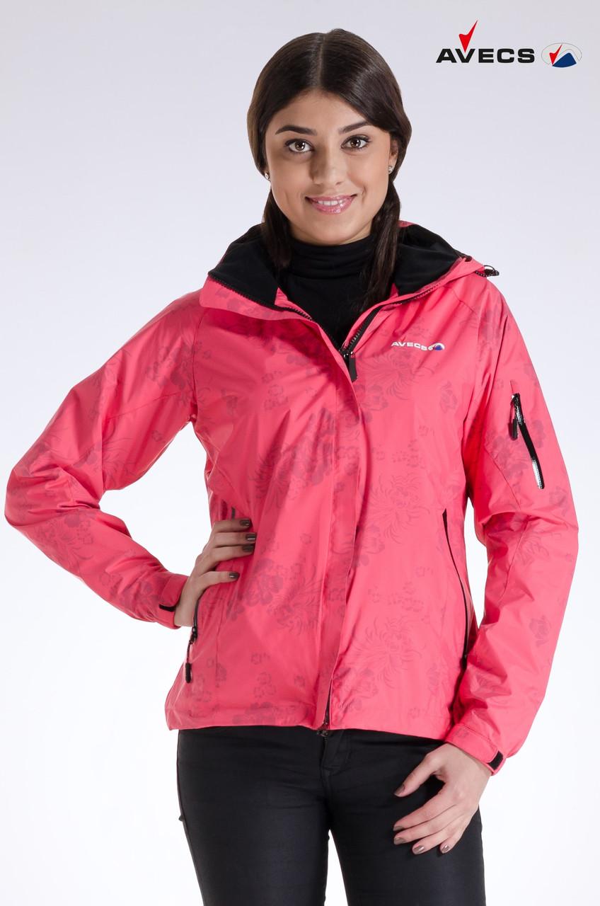Куртка женская ветровка Avecs розовый