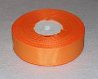 Лента репсовая оранжевая 2,5 см  16703, фото 1
