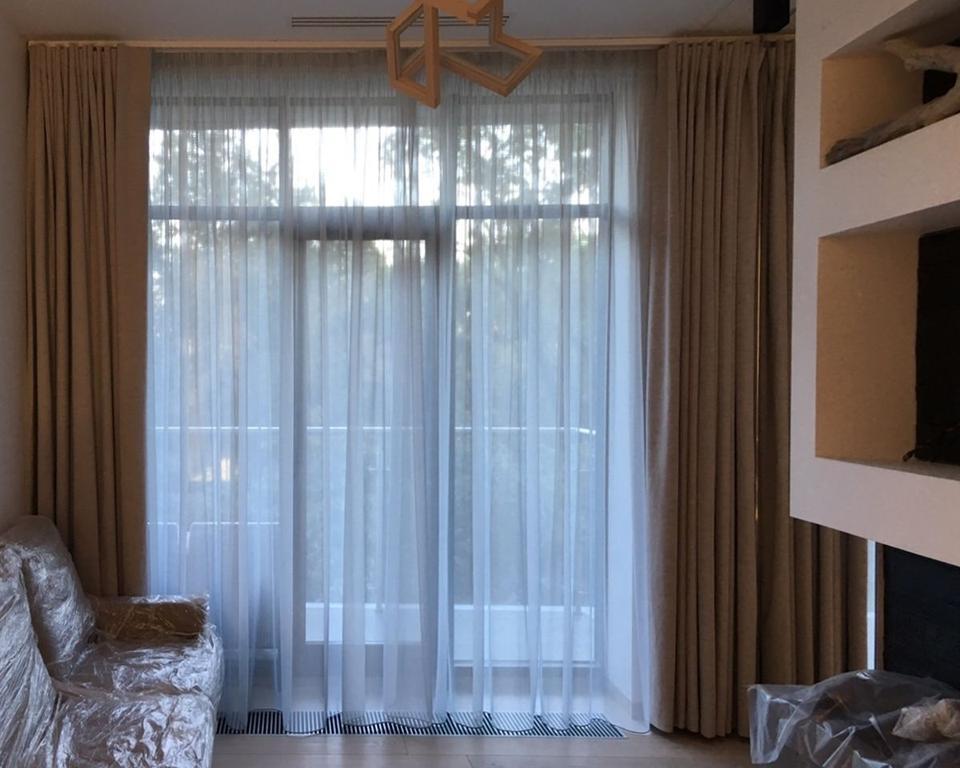 Шторы блэкаут для квартиры в ЖК Кристал Парк