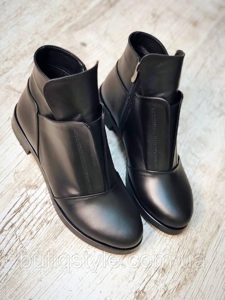 39 розмір! Зимові черевики жіночі Rays з натуральної шкіри з хутром