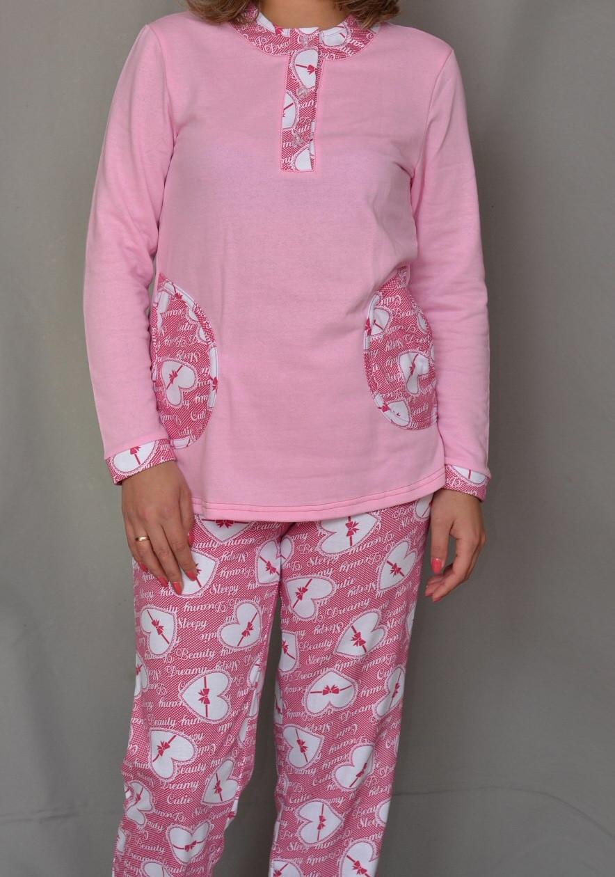 12a04b771c4a975 Купить Теплая пижама женская начес зимняя хлопковая кофта с брюками ...
