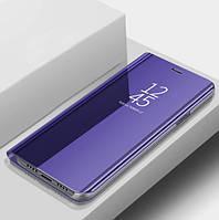 Чехол Книжка для Samsung Galaxy J4 j400 2018 с зеркальной поверхностью (4 Цвета)