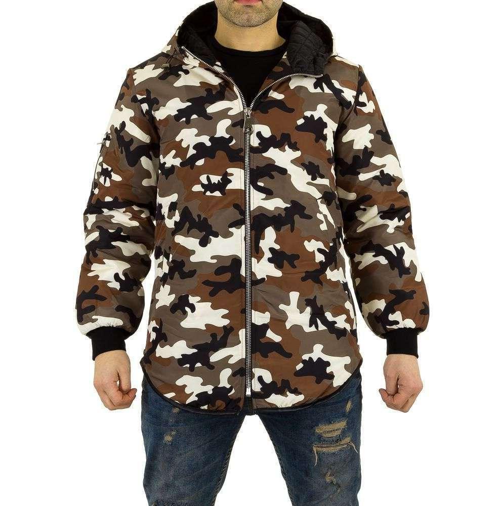 Демисезонная куртка мужская с капюшоном Uniplay (Европа), Камуфляжный