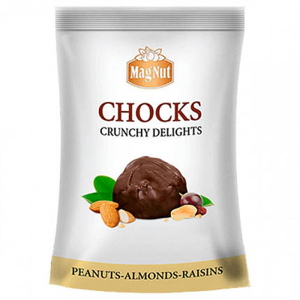 """Mag Nut"" Цукерки ""Chocks"" з Арахісом та Мигдалем 150гр, фото 2"