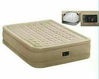 Надувной Матрас Кровать с электро насосом INTEX 64558 (152см-203см-47см)