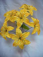 Букет лілія атлас (50 шт в уп), фото 1