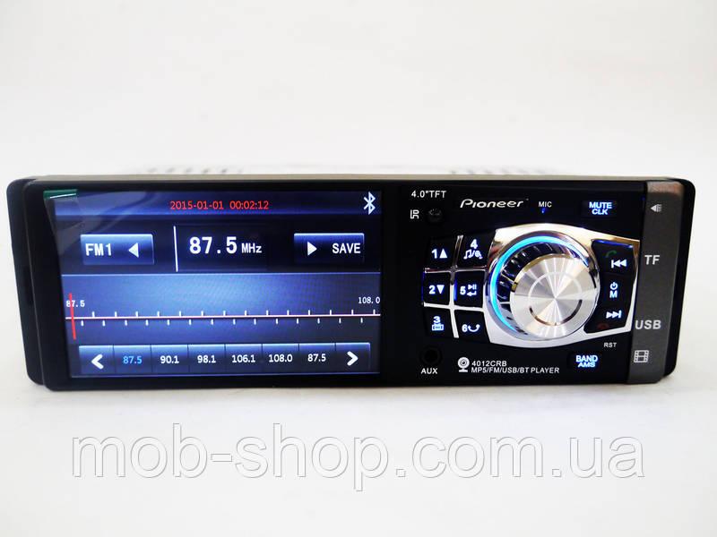 "Автомагнитола пионер Pioneer 4012 4""+Bluetooth+видео вход"