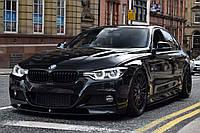 КОМПЛЕКТ НАКЛАДОК (ЛЕЗВИЙ) ПОД ПОРОГИ M-PERFOMANCE BMW F30/F31 (ПОД ПОКРАСКУ), фото 1