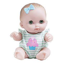 Кукла-пупс JC Toys Lil Cutesies All Vinyl Washable Doll Baby Doll, Green Eyes Bibi (Биби с зелеными глазами)