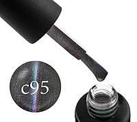 Гель-лак Naomi Cat Eyes 5D С95, 6 мл