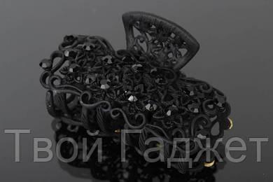 ОПТ/Розница Краб для волос ажурный декорированный стразами
