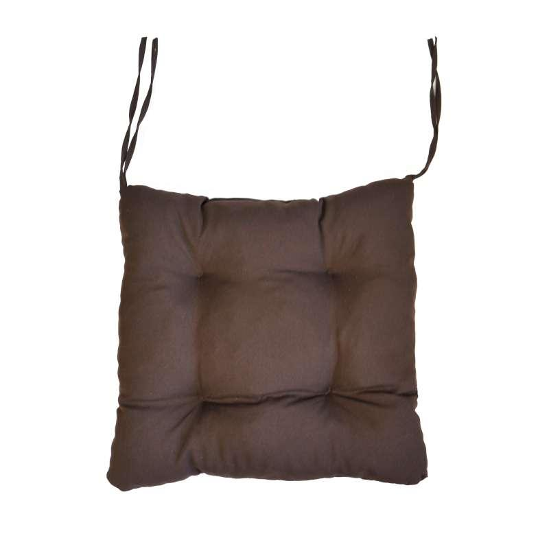 """Мягкая подушечка на стул """"Коричневая"""""""