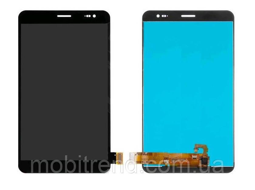 Дисплей к планшету Huawei MediaPad X1 black with touchscreen