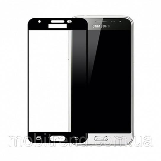 Стекло Samsung J330 Galaxy J3 (2017) (0.3 мм, 3D, с олеофобным покрытием) black