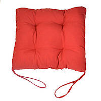 """Мягкая подушечка на стул """"Красная"""""""