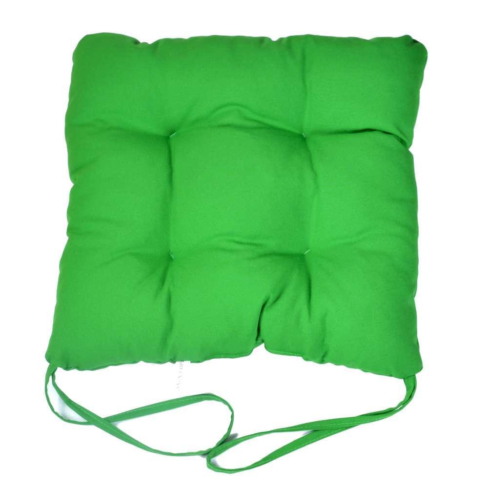 """Мягкая подушечка на стул """"Зеленая"""""""