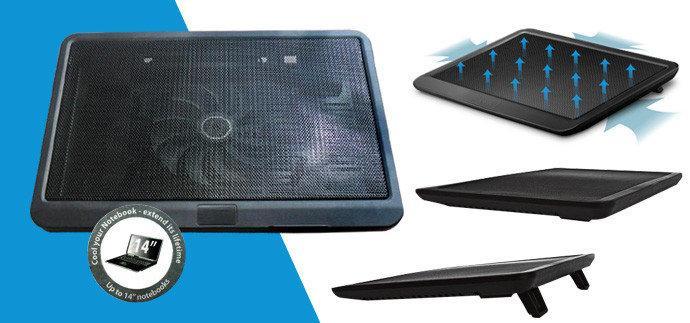 Охлаждающая подставка для ноутбука, столик для ноутбука