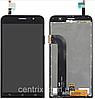 Дисплей (екран) для Asus ZenFone Go (ZB500KG) + тачскрін, чорний