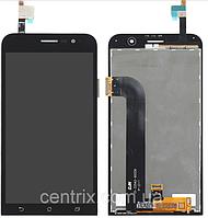 Дисплей (экран) для Asus ZenFone Go (ZB500KG) + тачскрин, черный
