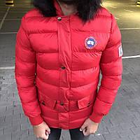 Мужская зимняя куртка Canada Goose Vernon Parka Red Label (реплика)