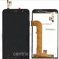 Дисплей (экран) для Asus ZenFone Go (ZB500KL) + тачскрин, черный