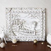 Панно настенное декоративное Набережная Италии в раме