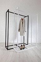 Вешалка для одежды в стиле  лофт 10