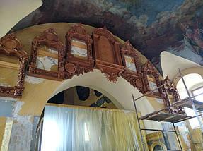 Иконостас Барокко,лакированный,дерево Ольха 5