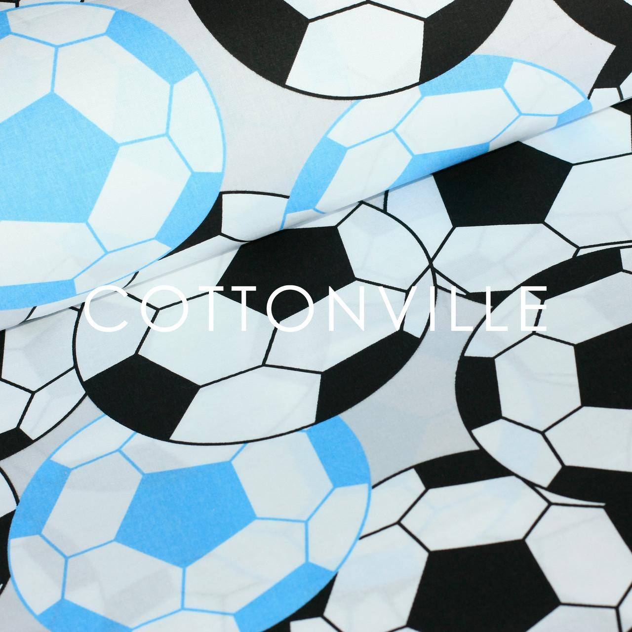 Польская бязь Футбольные мячи (есть уценённая)