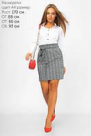 Мини-юбка c завышенной талией  42-48, фото 1