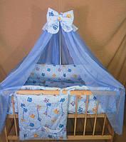 Детское постельное белье в кроватку Совята 8 в 1, фото 1