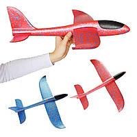 Детский планер метательный самолет из пенопласта, фото 1