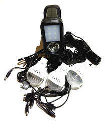 Портативная универсальная солнечная система GDLITE GD-8017 Plus