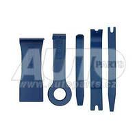 Набор для демонтажа обшивки автомобильного салона (5 предметов).