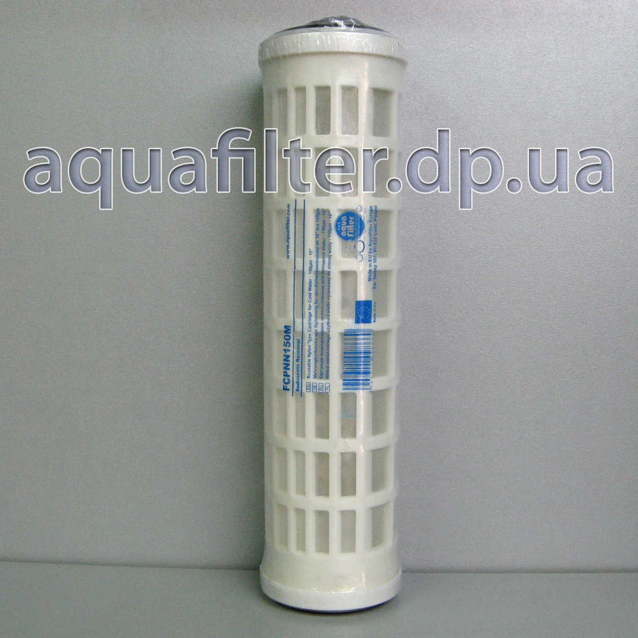 """Многоразовый картридж из нейлоновой сетки Aquafilter FCPNN150M 10"""" 150 мкм"""