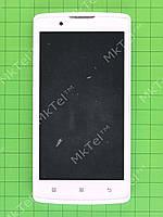Дисплей Lenovo A2010 с сенсором, панелью Оригинал Белый