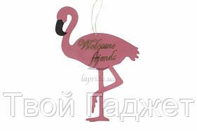 """ОПТ/Розница Табличка-фламинго """"Welcome friends"""""""