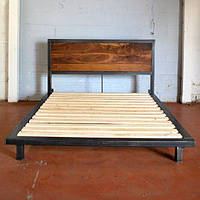 Кровать в стиле лофт 3