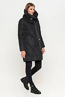 Стильная куртка женская зимняя | Чёрная