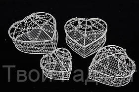 ОПТ/Розница Клетка металлическая (набор 4 в 1) бежевая