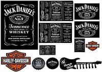 "Картинка вафельная  ""Jack Daniels style"""