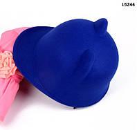 Шляпа с ушками для девочки. 54 см, фото 1