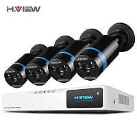 Система видеонаблюдения H.VIEW 8CH CCTV 2 MPX. 1080P регистратор 8-канальный