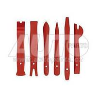 Набор для демонтажа обшивки автомобильного салона (6 предметов).